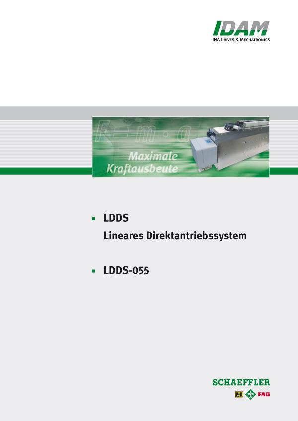 Lineares System in Schubstangenausführung: LDDS-055