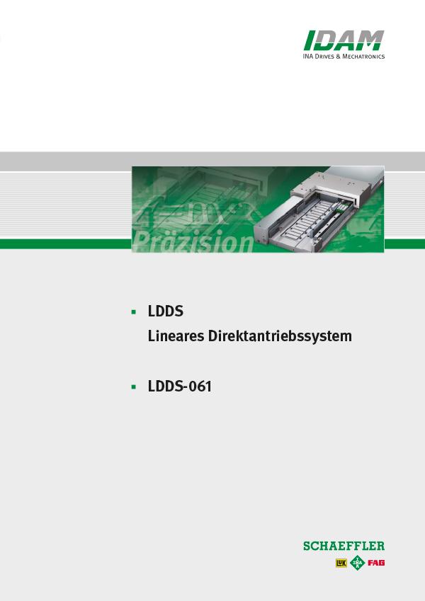 Kompakte, hochpräzise Linearachse: LDDS-061