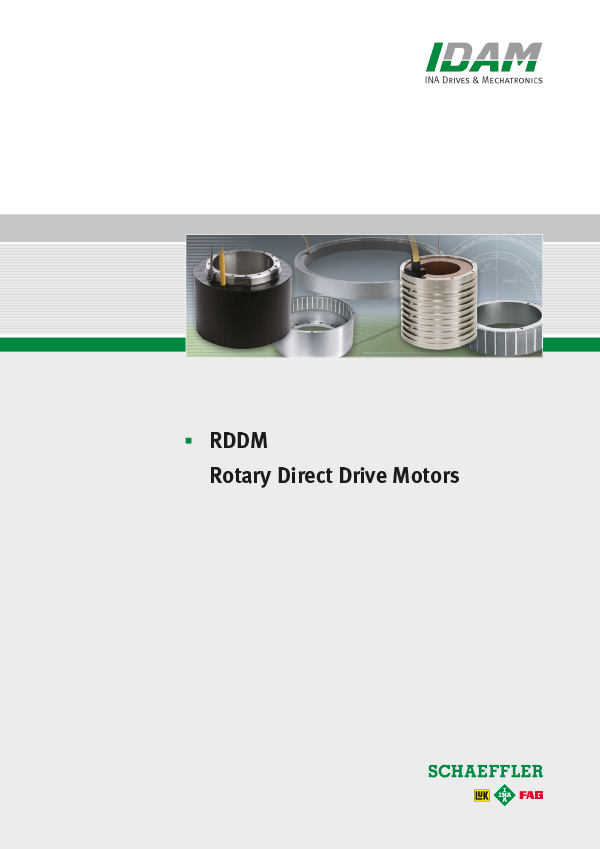 RDDM - Rotary Direct Drive Motors