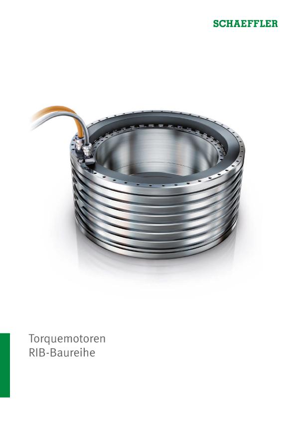 Torquemotoren: RIB-Baureihe