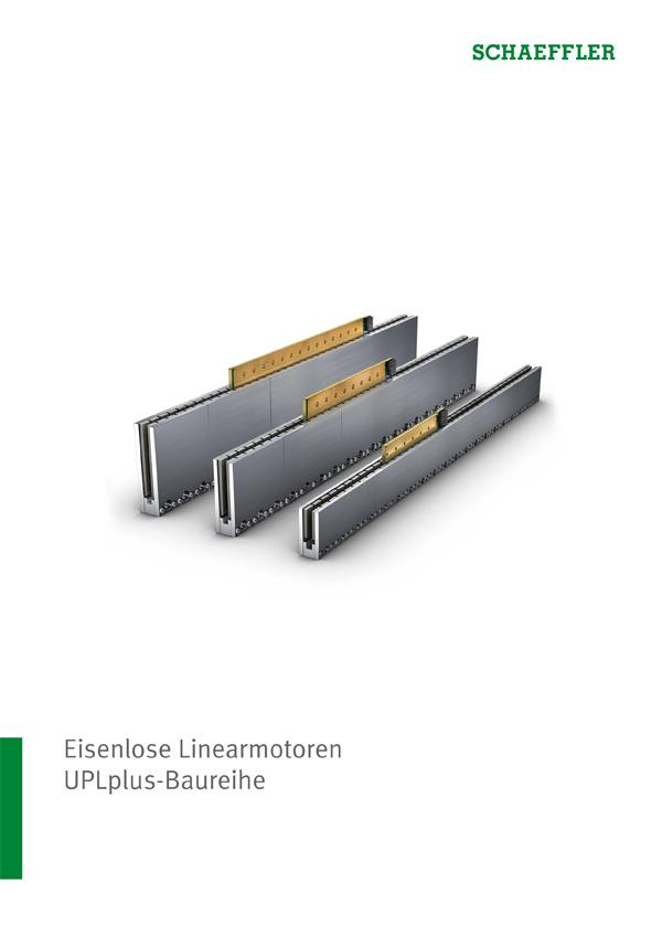 Eisenlose Linearmotoren: UPLplus-Baureihe