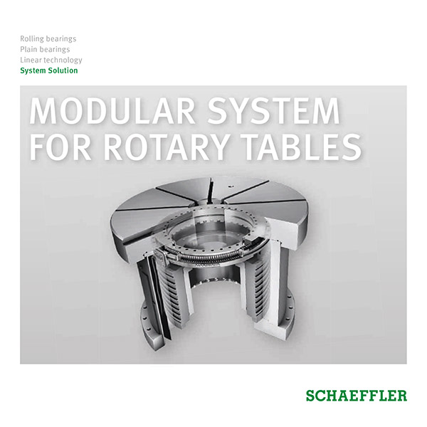 MODULAR SYSTEM FOR ROTARY TABLES