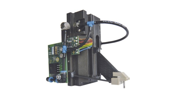 Short stroke Z-axis with 2-phase hybrid stepper motor: wear-free and precise.